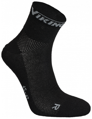 Viking Coolmax Socks black (2 pair)