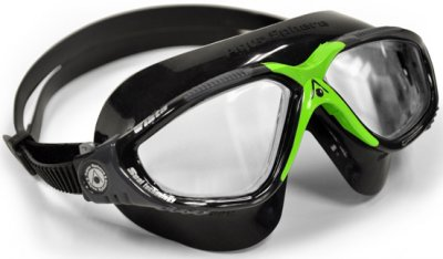 Vista Black/Green Clear Lens