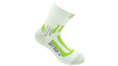 Running Sky Run 2.0 short white/green