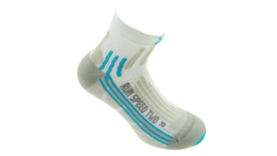 X-Socks Running Speed Two Lady short white/aqua