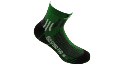 X-Socks Running Speed Two short black/green