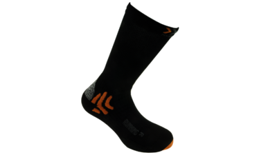 X-Socks Running mid calf black
