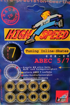 Abec 5/7 bearings 8 pack
