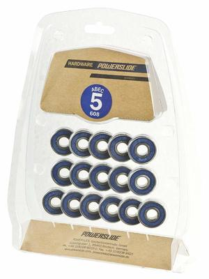 Powerslide Abec 5 608 16 pack (blauw)