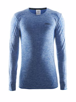 Craft Active Comfort Roundneck Lange mouw swedisch blue
