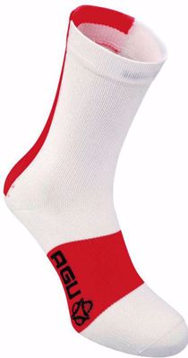 AGU 2-Pack Linea Summer Sock White/Red