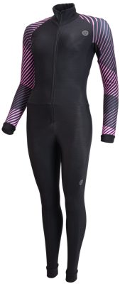 AGU Dames Marathon Thermoschaatspak Black subli