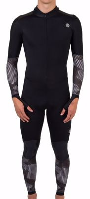 AGU Hybrid skating suit Hexa Camo Black/Iron Grey