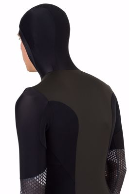 AGU Hybrid skating suit Hexa Camo Black/Iron Grey