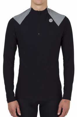 AGU Jersey Turtle melange Black/Iron Grey