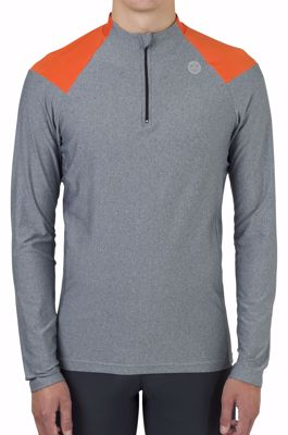 AGU Jersey Turtle melange Orange/Dark Grey