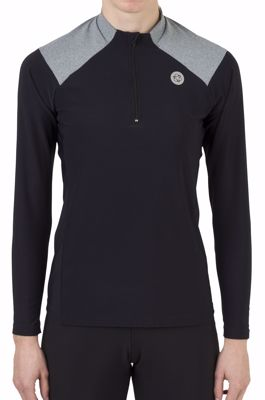 AGU Jersey womens Turtle melange Black/Iron Grey