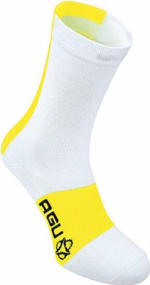 AGU Linea Summer Sock White/Yellow