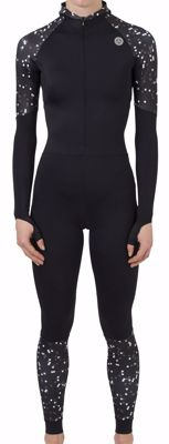 AGU Lycra speedsuit with cap women Black