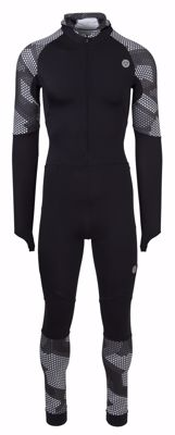 AGU Lycra speedsuit with cap Hexa Camo Black/Iron Grey
