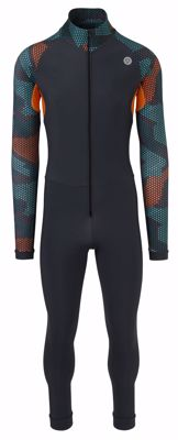 AGU Marathon Thermosuit Hexa Camo Thermo Green/Orange/Grey