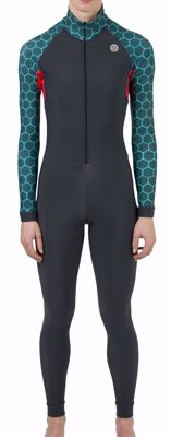 AGU Marathon Tile Thermosuit women Green/Pink/Black