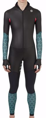 AGU Powerstretch speedsuit women Tile Green/pink/black
