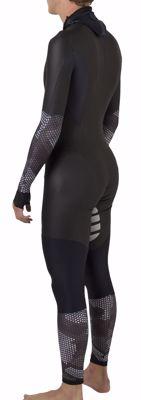 AGU Powerstretch speedsuit Hexa Camo Black/Iron Grey