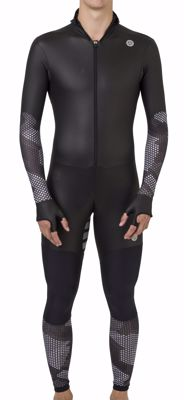 AGU Powerstretch speedsuit Hexa Camo Black/Iron Grey