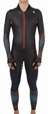 AGU Powerstretch speedsuit Hexa Camo Green/Orange/Iron Grey