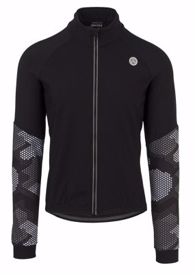 AGU Soft Shell Jacket Hexa Camo Black/Iron Grey
