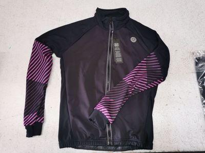 AGU Thermo schaatsjack black/pink