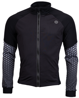AGU Thermo skatingjacket black/white