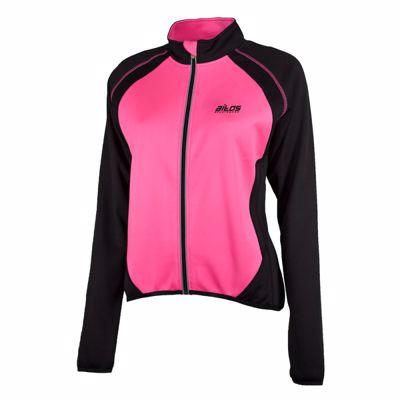 Aitos wielershirt dames korte mouw  Zwart/Pink