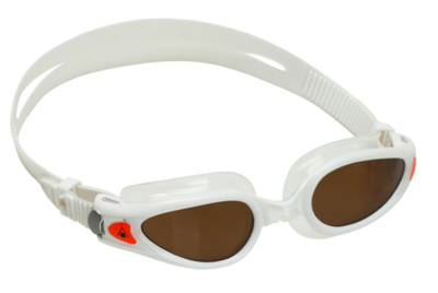 Aqua Sphere Kaiman EXO Compact fit Brown polorized lens White/Orange
