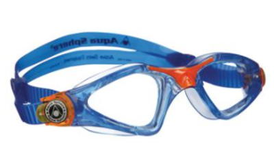 Aqua Sphere Kayenne JR Clear lens Blue/Orange