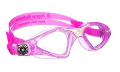 Aqua Sphere Kayenne JR Clear lens pink/white