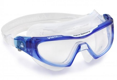 Aqua Sphere Vista PRO Clear lens Trans blue/White