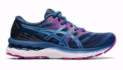 Asics Nimbus 23 Grand Shark/Digital aqua