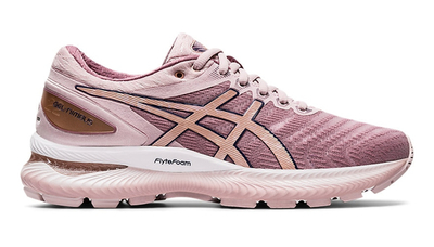 Asics Nimbus 22 watershed rose/rose gold