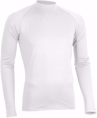 Avento Baselayer Heren Wit (lange mouw)