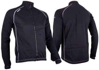 Avento Sportsjacket windbreaker black
