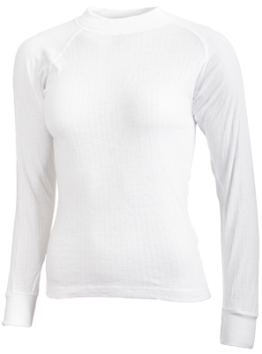 Avento Thermo Shirt Junior Manche longue 719 WHITE