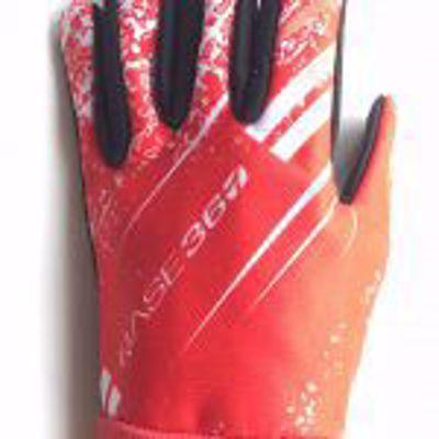 BASE360 Junior snijvaste handschoenen. rood