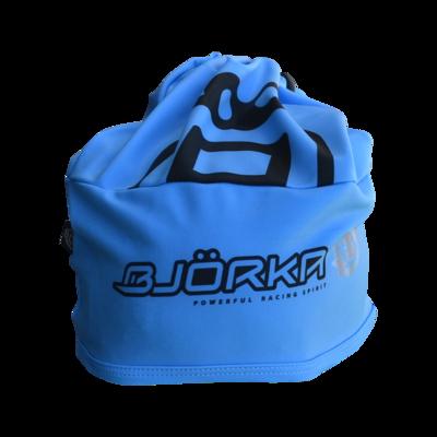 Bjorka Bonnet Tour de cou BleuFluo