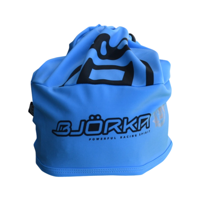 Bjorka Bonnet Fluo Blue