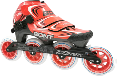 Bont Vaypor Red 4x100mm