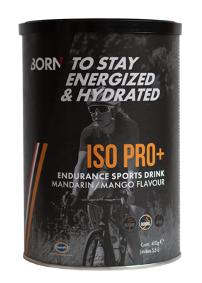 Born ISO Pro+ endurance sports drink madarin/mango