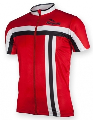 Rogelli bike shirt short sleeve Brescia Red