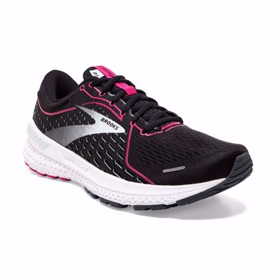 Brooks Adrenaline GTS 21 Black/Raspberry/Sorbet/Ebony