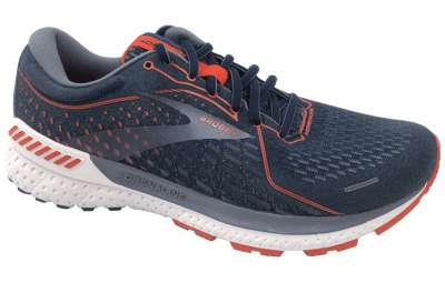 Brooks Adrenaline GTS 21  Navy/Red Clay/Gray