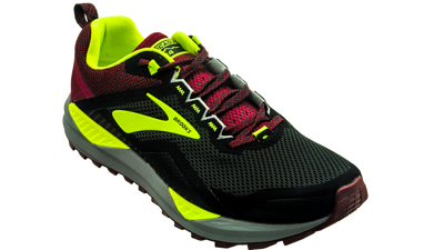 Brooks Cascadia 14 Black/Red/Nightlife
