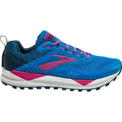 Brooks Cascadia 14 Blue Aster/Beetroot/Grey