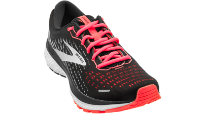 Brooks Ghost 13 Black/Ebony/Coral [NARROW-2A]