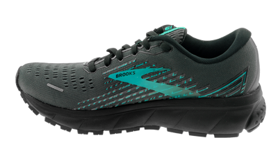 Brooks Ghost 13 GTX Black/Black/Peacock